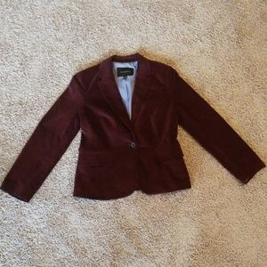 Banana Republic Wine Red Blazer size 4
